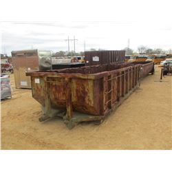 ROLL OFF CONTAINER, - 21', OPEN