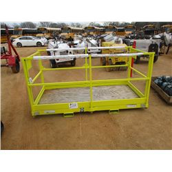 WORK PLATFORM, 1,000# CAPACITY, FITS FORLIFT