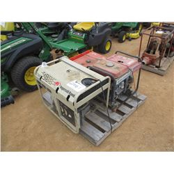 (3) MISC PORTABLE GENERATOR, GAS ENGINE