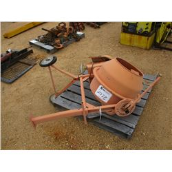 CEMENT MIXER, - ELECTRIC MOTOR