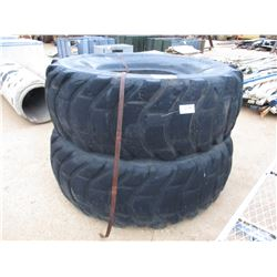 (2) 29.5-33 RADIAL TIRES