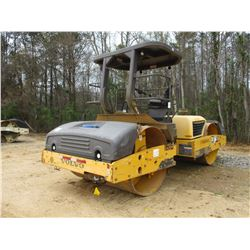 """2010 VOLVO DD118HF ROLLER, VIN/SN:275113 - VIBRATORY, TANDEM 78"""" SMOOTH DRUMS, WATER SYSTEM, CANOPY,"""