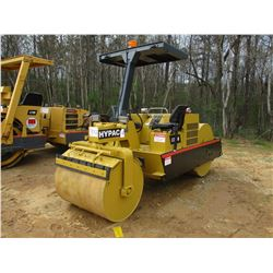 """HYPAC C330D ROLLER, VIN/SN:901B15803798 - VIBRATORY, TANDEM, CANOPY, 42"""" REAR, 40"""" FRONT, SMOOTH DRU"""