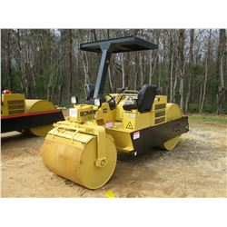 "BOMAG BW5AS ROLLER, VIN/SN:901B15811018 - VIBRATORY, TANDEM, 42"" REAR, 39"" FRONT, SMOOTH DRUMS, CANO"