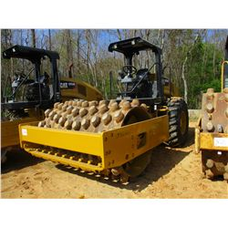 "2015 CAT CP54B ROLLER, VIN/SN:CPX00181 - VIBRATORY, 84"" PAD, FOOT DRUM, CANOPY, METER READING 1,794"