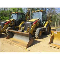 2012 CAT 430F IT LOADER BACKHOE, VIN/SN:RGS00268 - 4X4, E STICK, QUICK COUPLER, GP BUCKET, FRONT & R