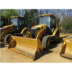 "2012 CAT 430F LOADER BACKHOE, VIN/SN:RDF00250 - 4X4, E-STICK, MP BUCKET, 24"" HOE BUCKET, ECAB W/AIR,"