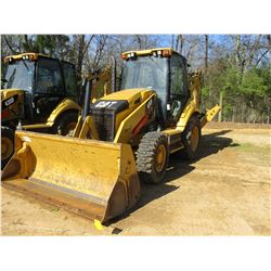 "2012 CAT 430F LOADER BACKHOE, VIN/SN:RDF00216 - 4X4, E-STICK, MP BUCKET, 24"" HOE BUCKET, ECAB W/AIR,"