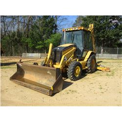 2004 CAT 430D LOADER BACKHOE, VIN/SN:BNK06139 - 4X4, E STICK, QUICK COUPLER, GP BUCKET, 24' HOE BUCK