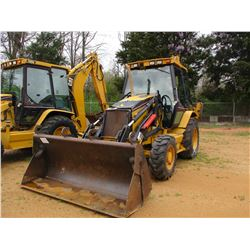 "2002 CAT 430D LOADER BACKHOE, VIN/SN:BML02431 - 4X4, E-STICK, QUICK COUPLER, MP BUCKET, 24"" HOE BUCK"