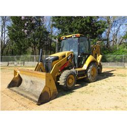 "2012 CAT 420F LOADER BACKHOE, VIN/SN:SKR00396 - 4X4, E STICK, MP BUCKET, 24"" HOE BUCKET, ECAB W/AIR,"