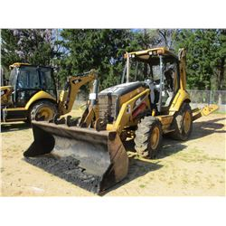 "2007 CAT 420E LOADER BACKHOE, VIN/SN:H6S03338 - 4X4, GP BUCKET, 24"" HOW BUCKET, AUX HYD, CANOPY, MET"