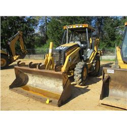 "2004 CAT 420D LOADER BACKHOE, VIN/SN:FDP21579 - 4X4, GP BUCKET, 24"" HOE BUCKET, CANOPY"