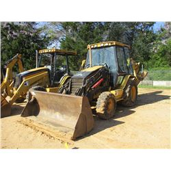 "2005 CAT 420D LOADER BACKHOE, VIN/SN:BLN12279 - 4X4, E STICK, QUICK COUPLER, MP BUCKET, 24"" HOE BUCK"