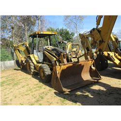 "CAT 416C LOADER BACKHOE, VIN/SN:4ZN02145 - 4X4, E-STICK, MP BUCKET W/FLIP FORKS, 24"" HOE BUCKET, AUX"