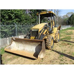 "CAT 416C LOADER BACKHOE, VIN/SN:1WR03553 - 4X4, QUICK COUPLER, GP BUCKET, 24"" HOE BUCKET, CANOPY"