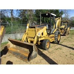 "CAT 416B LOADER BACKHOE, VIN/SN:85G06820 - GP BUCKET, 24"" HOE BUCKET, CANOPY, METER READING 5,341 HO"