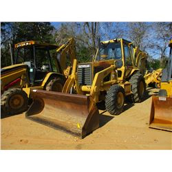 "CAT 446 LOADER BACKHOE, VIN/SN:6XF00786 - 4X4, E-STICK, GP BUCKET, 36"" HOE BUCKET, ECAB W/AIR, METER"