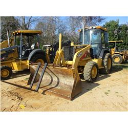 "JOHN DEERE 310SE LOADER BACKHOE, VIN/SN:851720 - 4X4, E STICK, GP BUCKET, FORKS, 24"" HOE BUCKET, ECA"