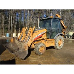 "2007 CASE 580 SUPER M SERIES II LOADER BACKHOE, VIN/SN:N7C426645 - 4X4, GP BUCKET, 12"" HOE BUCKET, E"
