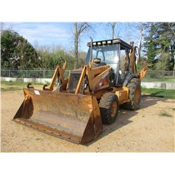 "CASE 590 SUPER M LOADER BACKHOE, VIN/SN:JJG0287072 - 4X4, E STICK, MP BUCKET, 36"" HOE BUCKET CANOPY,"