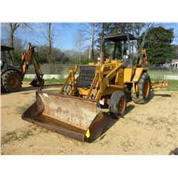 "CASE 580C LOADER BACKHOE, VIN/SN:8973812 - GP BUCKET, 24"" HOE BUCKET, CANOPY, METER READING 2,436 HO"