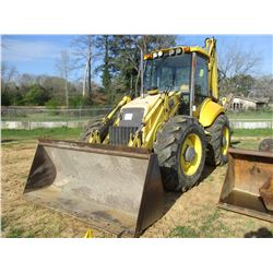 NEW HOLLAND LB115 LOADER BACKHOE, VIN/SN:69939070 - 4X4, E STICK, WAIN ROY XLS COUPLER, GP BUCKET, 3