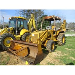 "JCB 1550B LOADER BACKHOE, VIN/SN:15BT41193498927 - WAIN ROY QUICK COUPLER, GP BUCKET, 24"" HOE BUCKET"