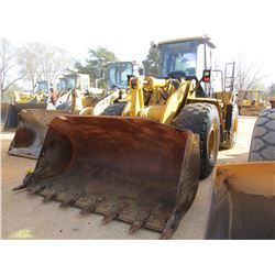 2008 CAT 966H WHEEL LOADER, VIN/SN:A6D01653 - GP BUCKET, ECAB W/AIR, 26.5R25 TIRES, METER READING 12