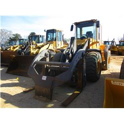 2006 VOLVO L90E WHEEL LOADER, VIN/SN:V66701 - WICKER FORKS W/TOP CLAMP, AUX HYD, ECAB W/AIR, 20.5-25