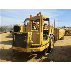 CAT 613C SERIES II WATER WAGON, VIN/SN:8LJ00748 - MEGA 5000 WATER BODY, FRONT & REAR DISCHARGE, HOSE