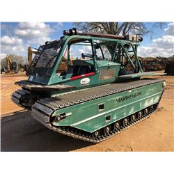 MARSH MASTER MM-2 ANCHOR MASTER, - FULLY AMPHIBIOUS, GUIDE-WIRE INSTALLER, DETROIT DIESEL ENGINE, FR