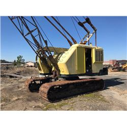 P&H 535 CRAWLER CRANE, VIN/SN:34155 - 35 TON, 90' BOOM, HOOK BLOCK, CUMMINS N855P ENGINE (SOLD ABSEN