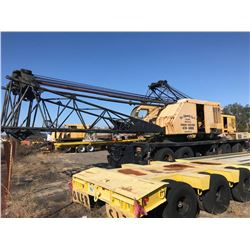 1979 P & H 9125A-TC TRUCK CRANE, VIN/SN:48555 - 140 TON, 150' BOOM, HOOK BLOCK, CUMMINS NV903 ENGINE