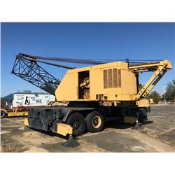 1967 P&H 9125-TC TRUCK CRANE, VIN/SN:29679 - 140 TON, 150' BOOM, HOOK BLOCK (SOLD ABSENTEE) (LOCATED