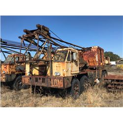 1972 P & H 670-TC TRUCK CRANE, VIN/SN:34262 - 70 TON, 100' BOOM, HOOK BLOCK, CUMMINS N855P ENGINE, M