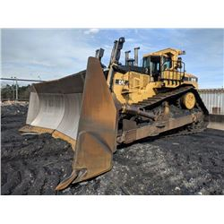 2004 CAT D11R CRAWLER TRACTOR, VIN/SN:7PZ00845 -COAL U BLADE (CARBIDE OVERLAYED W/0% SURFACE WEAR) A