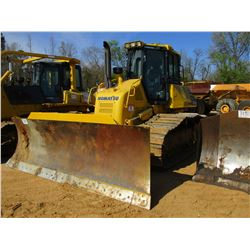 2014 KOMATSU D61PX-23 CRAWLER TRACTOR, VIN/SN:30938 - 6 WAY BLADE, ECAB W/AIR, METER READING 417 HOU