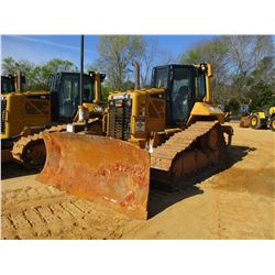 2011 CAT D6N XL CRAWLER TRACTOR, VIN/SN:MLW00361 - 6 WAY BLADE, DIFF STEER, REAR RIPPER, ECAB W/AIR,