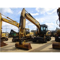 "2008 CAT M322D WHEELED EXCAVATOR, VIN/SN:W2S00291 - 11' STICK, QUICK COUPLER, 78"" BUCKET, AUX HYD, B"
