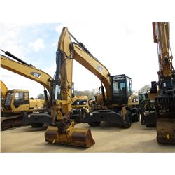 "2008 CAT M322D WHEELED EXCAVATOR, VIN/SN:W2S00290 - 9' 6"" STICK, 78"" BUCKET COUPLE, AUX HYD, BLADE,"