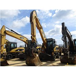 "2006 CAT 318C MH WHEELED EXCAVATOR, VIN/SN:H2F00175 - 12' STICK, QUICK COUPLER, CAT GRAPPLE, 48"" BUC"