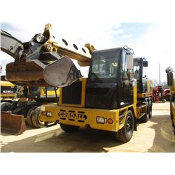 "GRADALL XL 4100 IV WHEELED EXCAVATOR, VIN/SN:4100000501 -TELESCOPIC BOOM, 60"" BUCKET, ECAB W/AIR, 38"