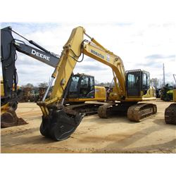 "2013 KOMATSU PC160LC-8 HYDRAULIC EXCAVATOR, VIN/SN:25704 - 9' 6"" STICK, 36"" (UNUSED) BUCKET, 36"" BUC"