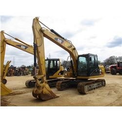 "CAT 313FL GC HYDRAULIC EXCAVATOR, VIN/SN:HDK10005 - 9' 6"" STICK, 32"" BUCKET, REAR CAMERA, ECAB W/AIR"