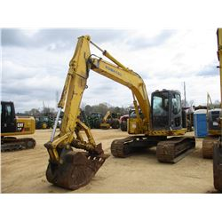 "2003 KOMATSU PC138USLC-2 HYDRAULIC EXCAVATOR, VIN/SN:1071 - 8' STICK, 36"" BUCKET, THUMB, ECAB W/AIR,"