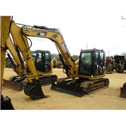"2013 CAT 308E2 CR EXCAVATOR, VIN/SN:TMX01193 - 7' 6"" STICK, 24"" BUCKET, AUX HYD, BLADE, ECAB W/AIR,"