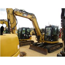 "2011 CAT 308D CR EXCAVATOR, VIN/SN:FYC02046 - 7' 3"" STICK, QUICK COUPLER, 22"" BUCKET, AUX HYD, BLADE"