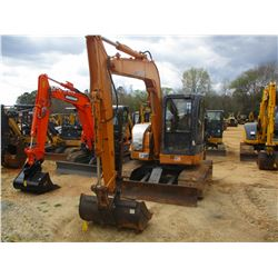 "2010 CASE CX755R MINI EXCAVATOR, VIN/SN:NASLA7276 - 6' 11' STICK, 48"" CLEAN OUT BUCKET, THUMB BLADE,"