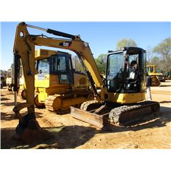 "2010 CAT 305C CR MINI EXCAVATOR, VIN/SN:HWJ04512 - 6' STICK, 22"" BUCKET, AUX HYD, BLADE, RUBBER TRAC"